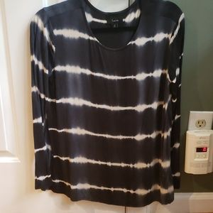 Tie dye long sleeve soft shirt